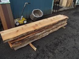 Cedar Live Edge Slabs Mill Outlet Lumber