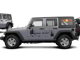 Product Jeep Life Vinyl Decal Graphic Side Wrangler Rubicon Sahara Jk Jku Tj 3