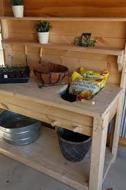 the perfect diy potting bench strong