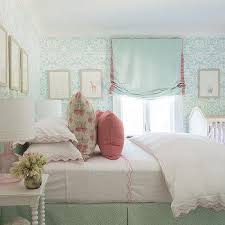 white and mint green nursery design