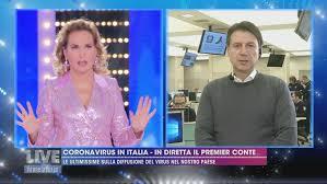 Coronavirus: in diretta Giuseppe Conte - Live - Non è la d'Urso ...