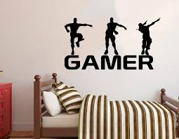 Gamer Wall Decal Video Games Wall Sticker Controller Wall Etsy