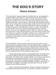 Eleanor Arnason - The Dog's Story | Fairies | Magic (Paranormal)