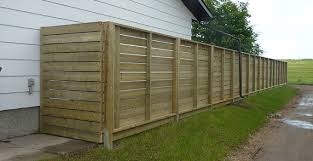 A Horizontal Fence How To