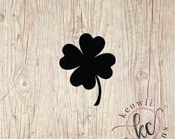 Clover Decal Etsy
