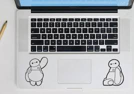 Disney Baymax Macbook Decal Big Hero 6 Laptop Decal Free Etsy
