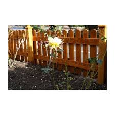 Round Top Picket Fencing Panel