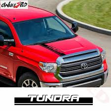 Hot Promo 3f5b3a Car Hood Sticker Vinyl Decals For Toyota Tundra Pickup Bonnet Sport Stripes Decals Auto Engine Cover Decor Stickers Cicig Co