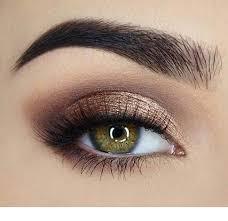 pretty eye makeup for green eyes
