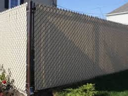 Chain Mesh Fencing And Chain Link Fence Slat Applications