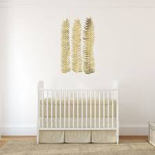 Gold Seaweed Stems Interior Decor Wall Art Sticker Decal By Catcoq Kismet Decals