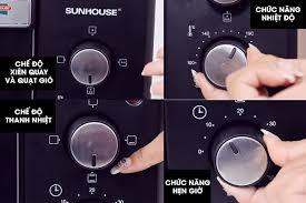 Đánh giá lò nướng Sunhouse SHD 4206 dung tích 10L có tốt không?