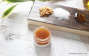 diy homemade natural lip scrub wonder