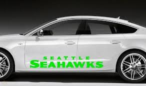 2 Huge Seattle Seahawks Car Truck Window Decals Each 70 W X 11 H Nfl 1829239956