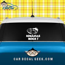 Iguana S Rock Car Window Decal Sticker Reptile Decals