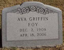 Ava Gladys Griffin Foy (1908-2006) - Find A Grave Memorial