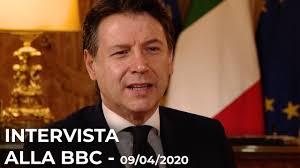 Intervista del Presidente Conte alla BBC - YouTube