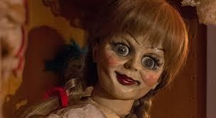 annabelle doll make up