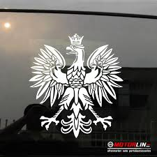 Decals Bumper Stickers Coat Of Arms Of Poland Eagle Decal Sticker Polski Polska Car Vinyl Pick Size Color Die Cut No Background Color Name Size 15cm High Itrainkids Com
