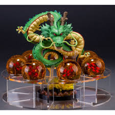 Mô hình 7 viên ngọc rồng + rồng thần Shenlong (có giá đỡ) - MuaZii