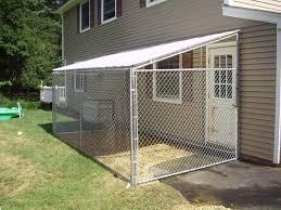 Dog Kennel Chain Link Fence Diy Dog Kennel Dog Kennel Roof Dog Enclosures