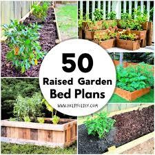 raised garden bed 50 plans to diy