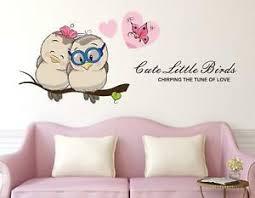 Cute Love Couple Removable Bedroom Art Mural Vinyl Wall Sticker Decal Home Decor Ebay