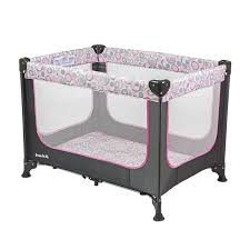 Dream On Me Zodiak Portable Play Yard Grey Pink Walmart Com Walmart Com