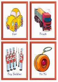toys esl printable picture dictionary