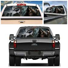 22 X65 Large Tint Eye Catching Sticker Rear Window Graphic Decal For Truck Suv Klimmodontologia Com Br