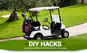 diy s to improve golf cart