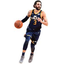 Utah Jazz Ricky Rubio Fathead Life Size Removable Wall Decal