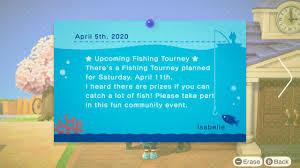 New Horizons first Fishing Tourney ...