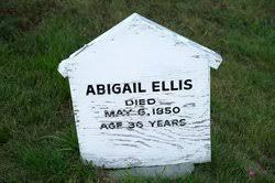 Abigail Sollows Ellis (1814-1850) - Find A Grave Memorial