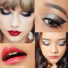 taylor swift eye makeup tutorial cat