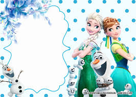 24 Frozen Invitation Templates Free Download En 2020 Crear