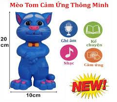 Đồ Chơi Mèo Tom Thông Minh Cảm Ứng Biết Nói + Hát + Kể Chuyện + ...