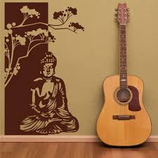 Buddha Wall Decal Style And Apply