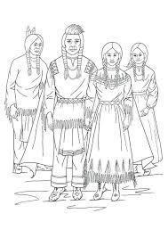Kleurplaat Nimiipu Indianen Gratis Kleurplaten Om Te Printen