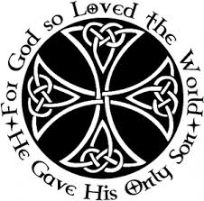 Celtic Cross John 3 16 God Loved The World Car Or Truck Window Decal Sticker Or Wall Art Decalsrock