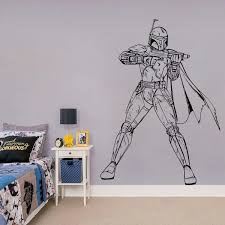 Boba Fett Star Wars Wall Sticker Kuarki Lifestyle Solutions