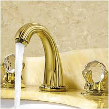 bathroom faucets with crystal knobs