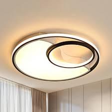 acrylic ring led flush ceiling light