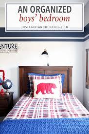 An Organized Boys Bedroom Abby Lawson