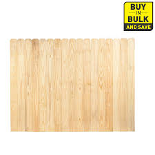 Severe Weather Pressure Treated Pine Privacy Fence Panel Common 6 Ft X 8 Ft Actual 6 Ft X 8 Ft Wood Fence Severe Weather Privacy Fence Panels