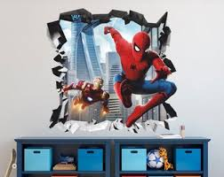 Iron Man Wall Decal Etsy