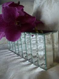 mirrored vase large rectangle mirror