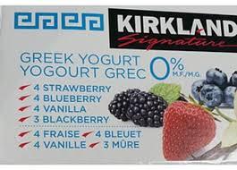 kirkland signature variety pack greek