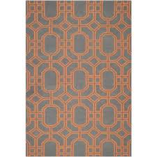 safavieh dhurries blue orange 6 ft x 9