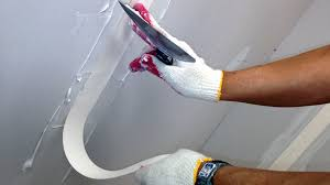 drywall joints vs tapered